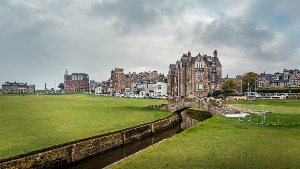 Campo da golf Old Course a St. Andrews